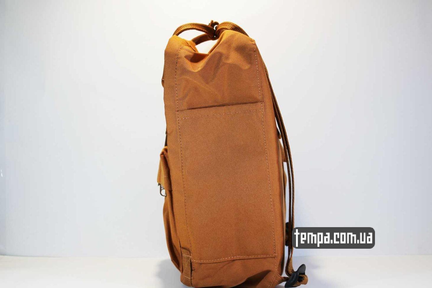 сумка чемодан Рюкзак re Fjällräven kanken rekanken канкен коричневый с лисой