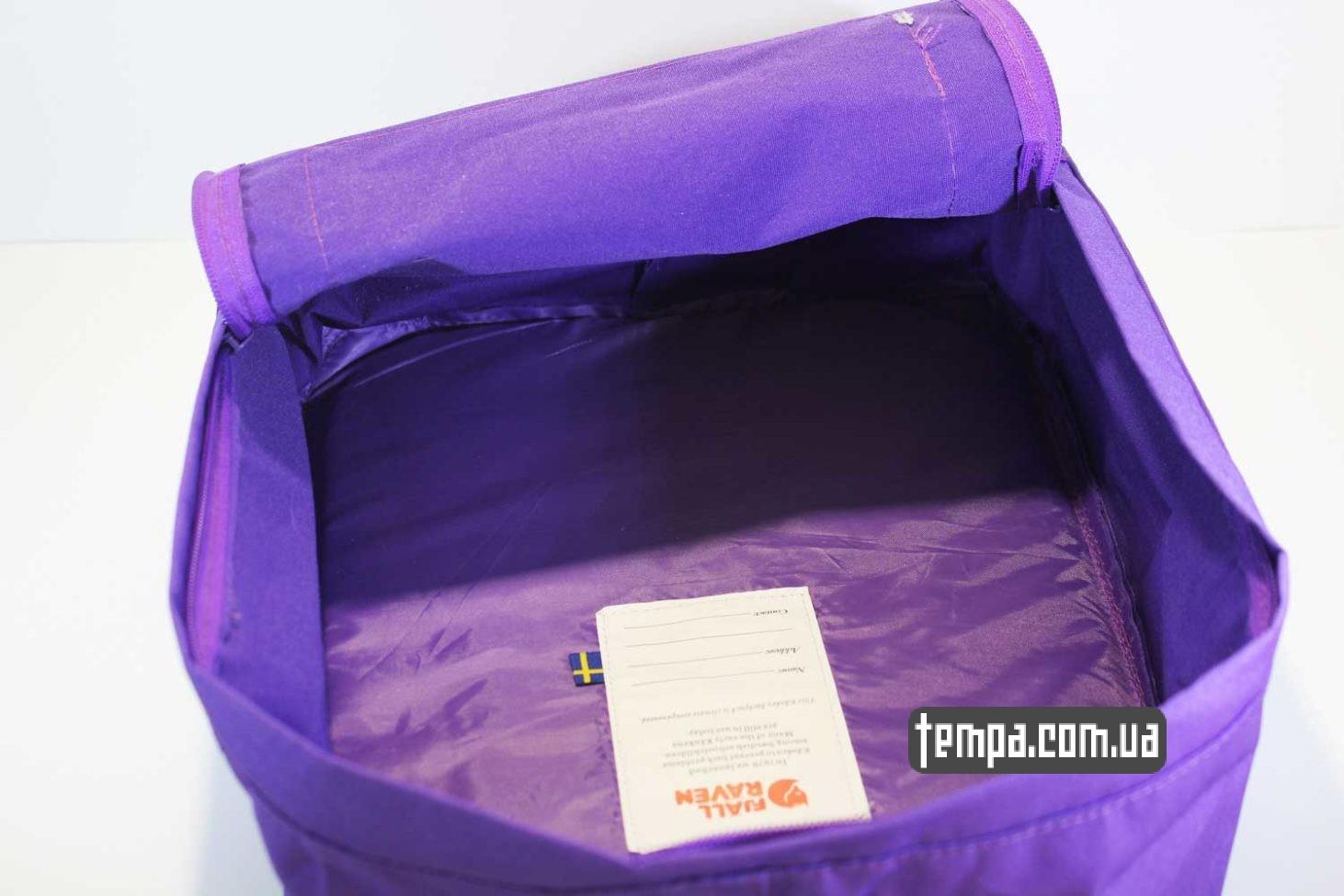 classic рюкзак re kanken fjallraven purple сиреневый фиолетовый