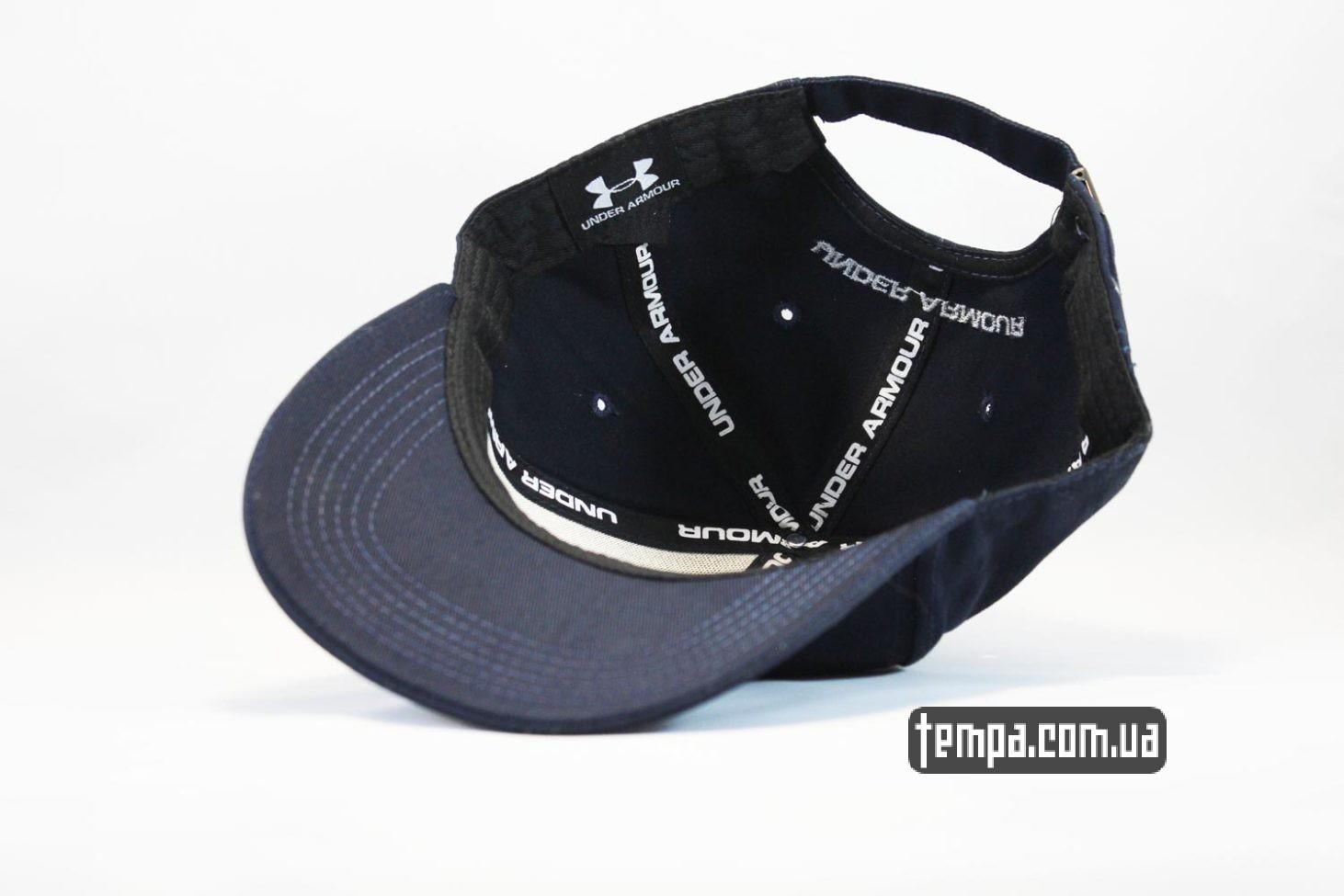 бойцовская кепка бейсболка UNDER ARMOUR синяя спортивная оригинал