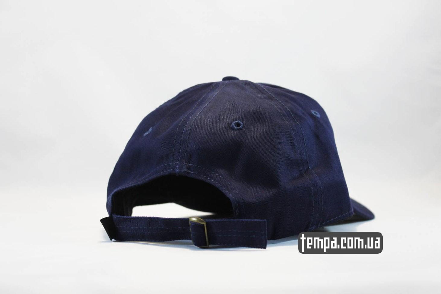 маленький логотип кепка бейсболка FILA маленький логотип синяя купить