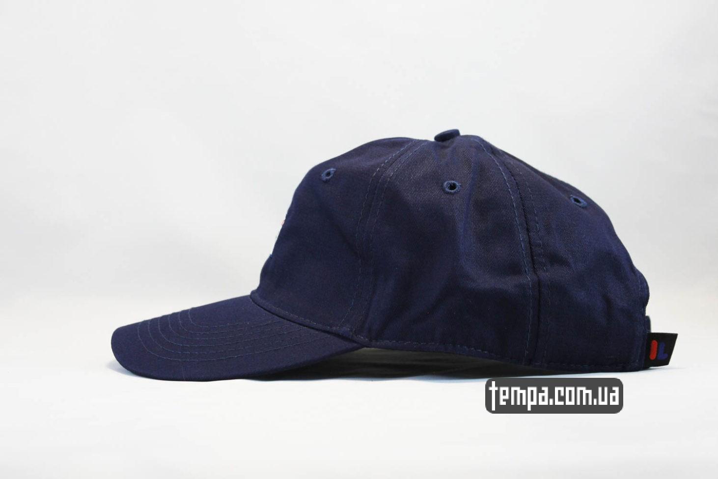 оригинал FILA OLDSCHOOL кепка бейсболка FILA маленький логотип синяя купить