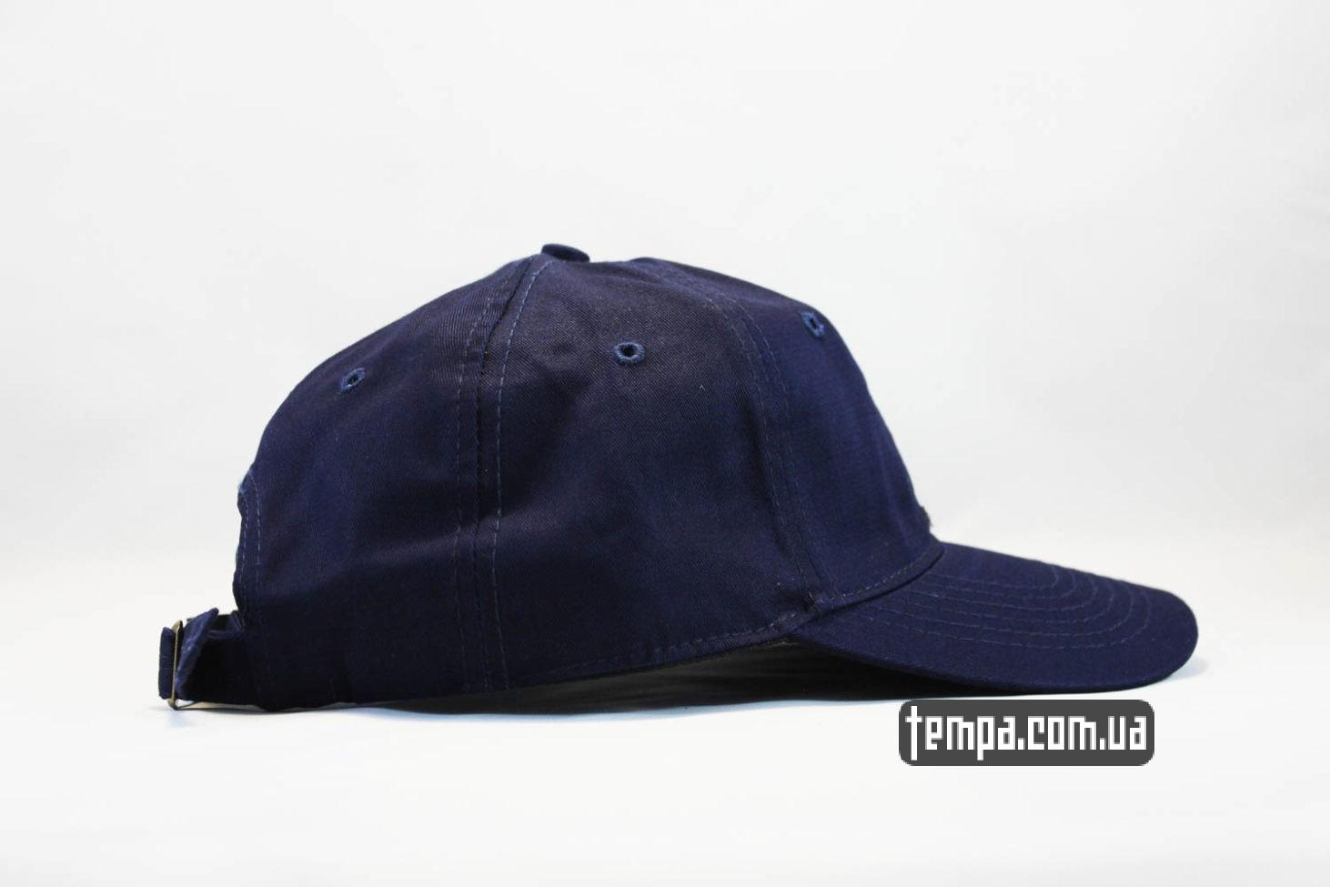 синяя оригинальная кепка бейсболка FILA маленький логотип синяя купить