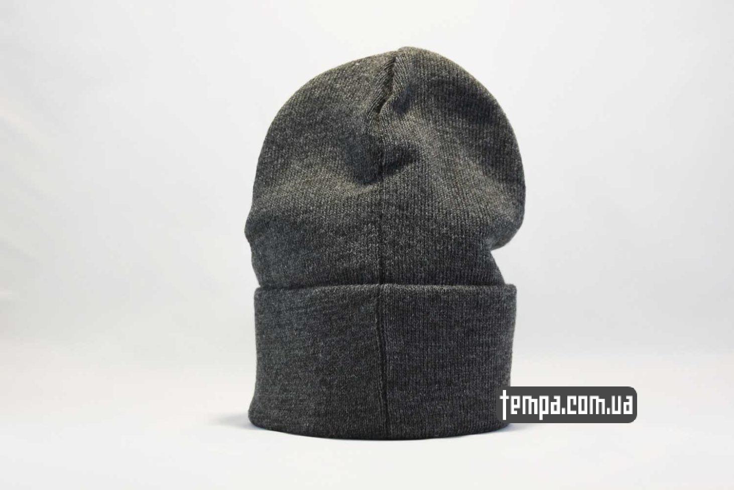 vans магазин шапка beanie VANS OFF THE WALL серая купить