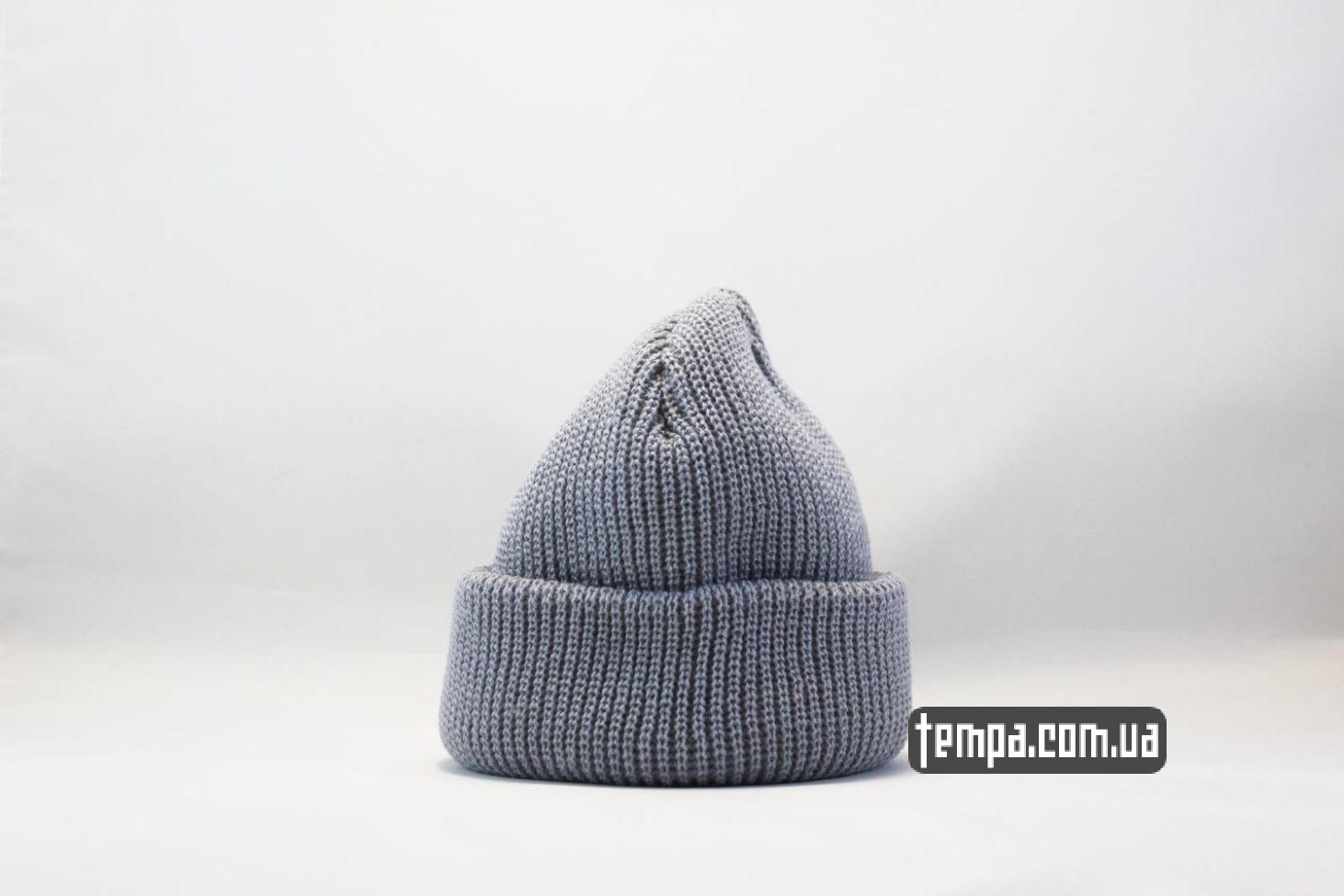 Украина оригинал короткая шапка шапка beanie MONATIK ASOS серая купить Украина оригинал