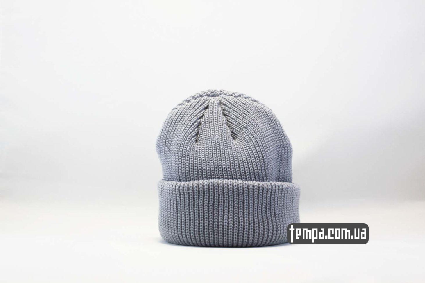 шапка beanie MONATIK ASOS серая купить Украина оригинал