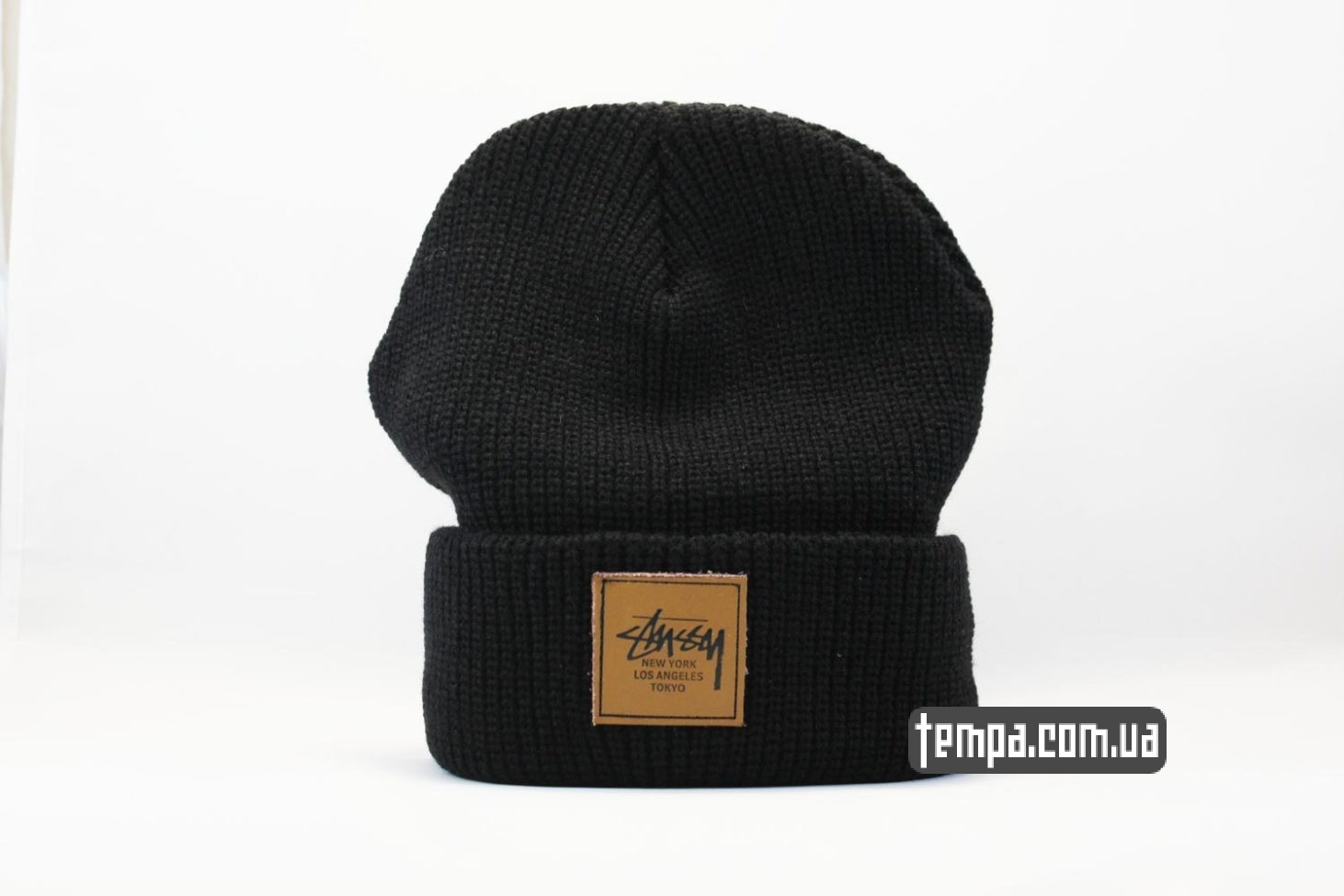 шапка beanie STUSSY New York Los Angeles Tokyo купить магазин Украина