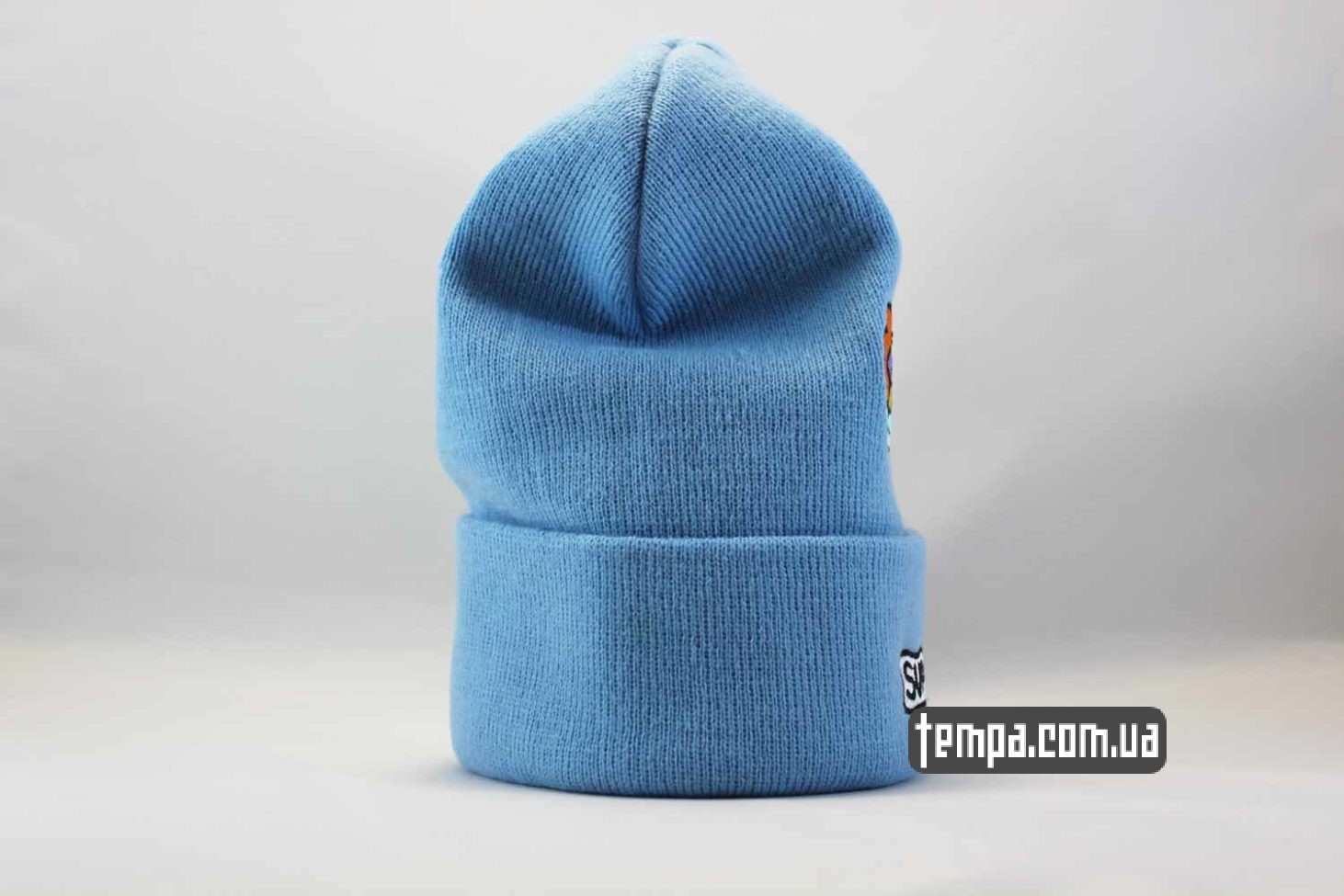 суприм Киев Одесса шапка beanie supreme blue голубая supream магазин