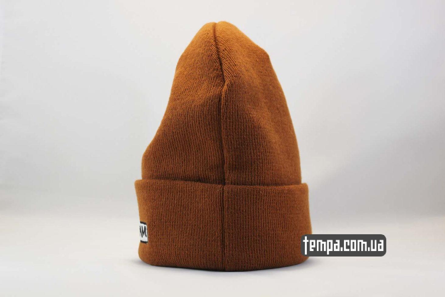 суприм магазин оригинал шапка beanie SUPREME supream coolio коричневая