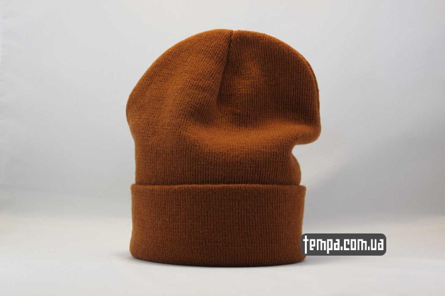 суприм украина шапка beanie SUPREME supream coolio коричневая