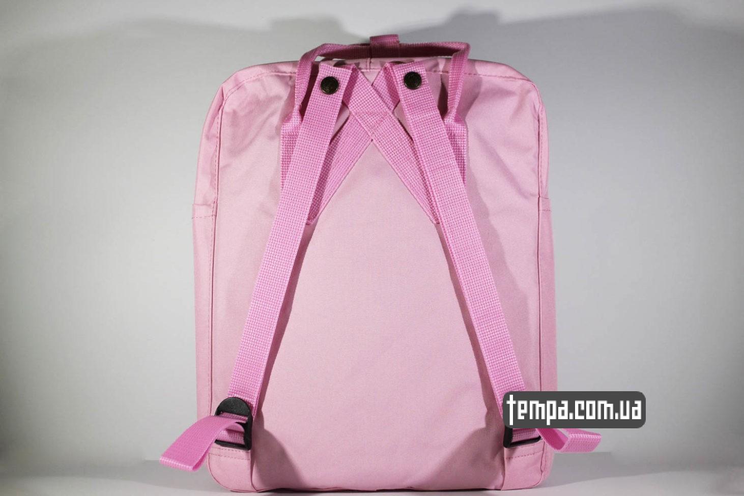 девечий школьный портфель рюкзак Kånken — Fjällräven розовый яркий купить Украина