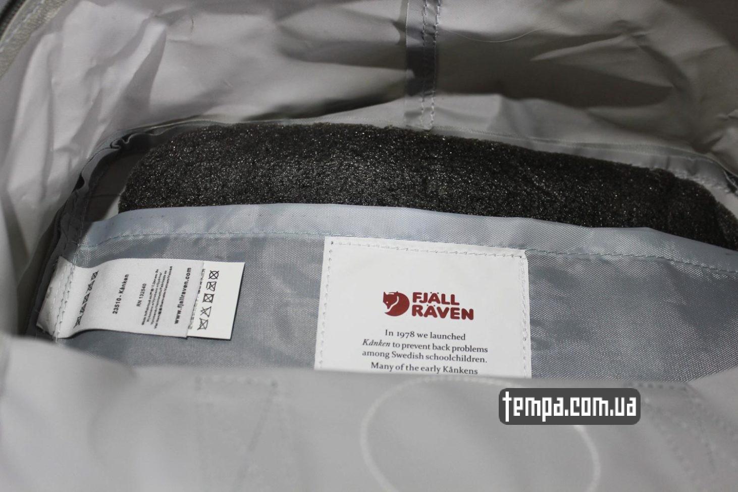 где купить оригинальный канкен украина Купить Рюкзак Fjallraven Kånken 16 по выгодной цене серый цвет