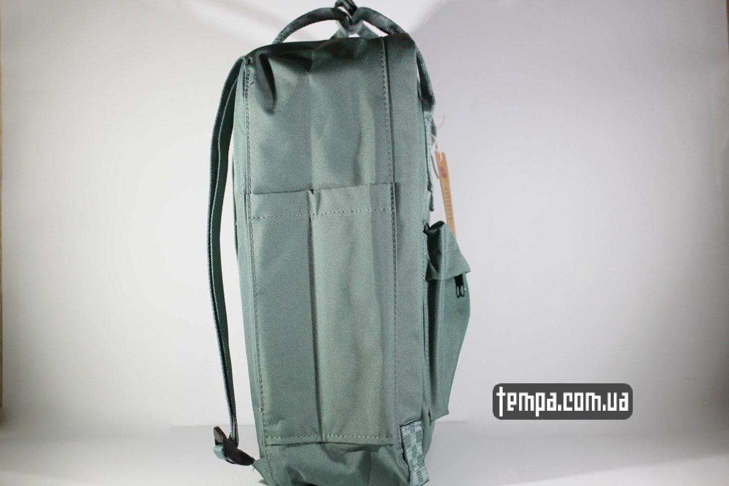 китайская копия купить недорого Купить Рюкзак Fjallraven Kanken 16 зеленый с ручками