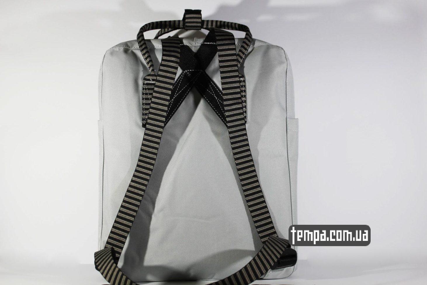 купить оригинальный рюкзак Купить Рюкзак Fjallraven Kånken 16 по выгодной цене серый цвет