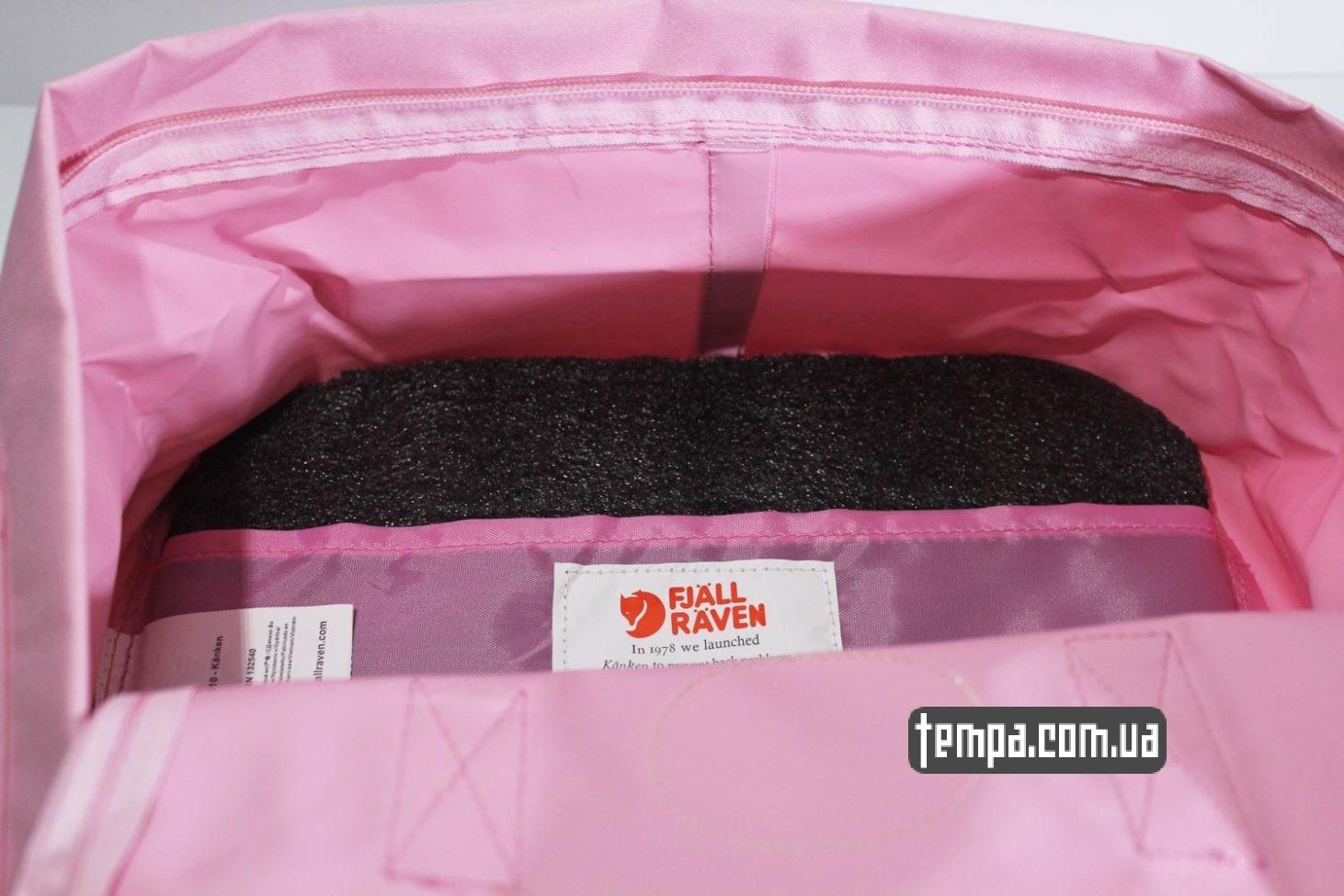 женская сумка подарок рюкзак Kånken — Fjällräven розовый яркий купить Украина
