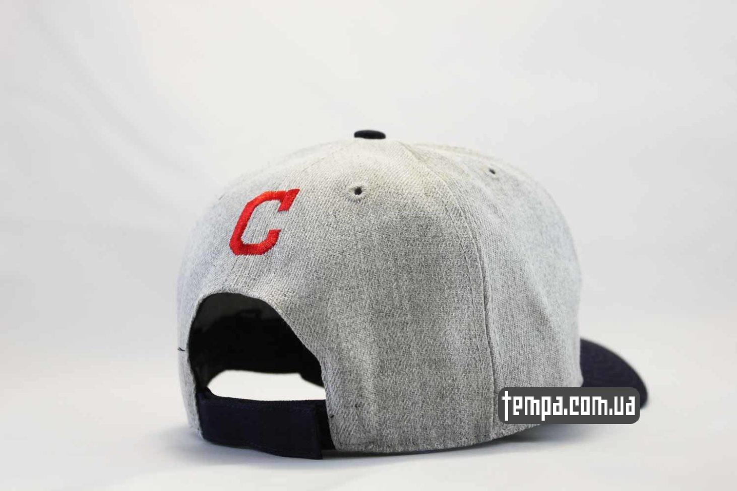 бейсбольная одежда кепка бейсболка снепьек Cleveland Indians с индейцем