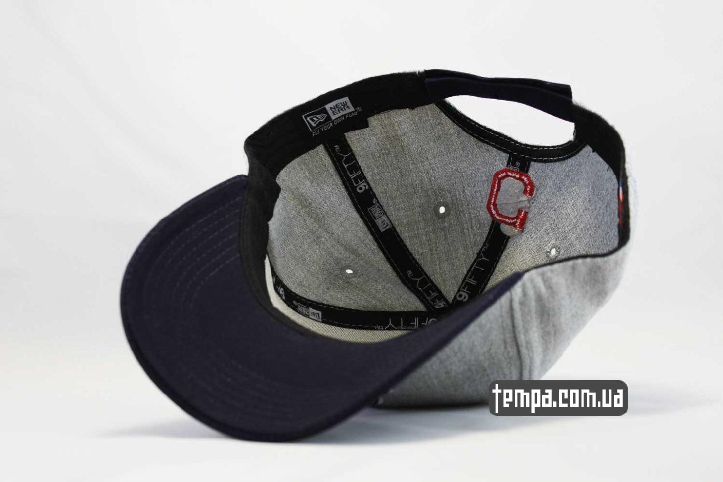 snapback кепка бейсболка снепьек Cleveland Indians с индейцем new era