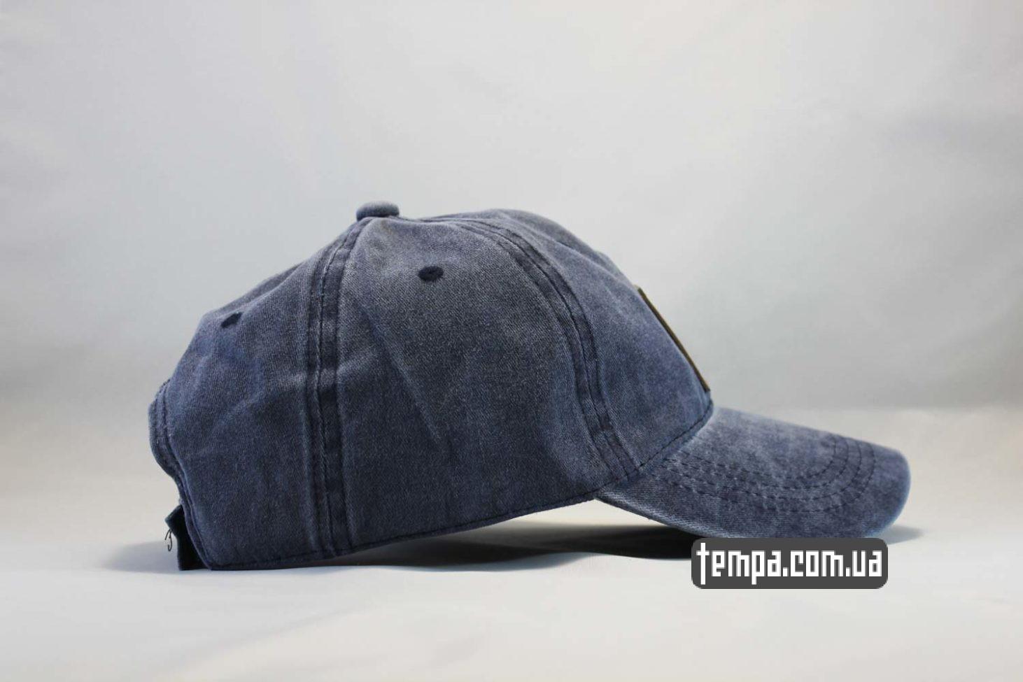 кархарт украина кепка Carhartt бейсболка джинсовая синяя купить