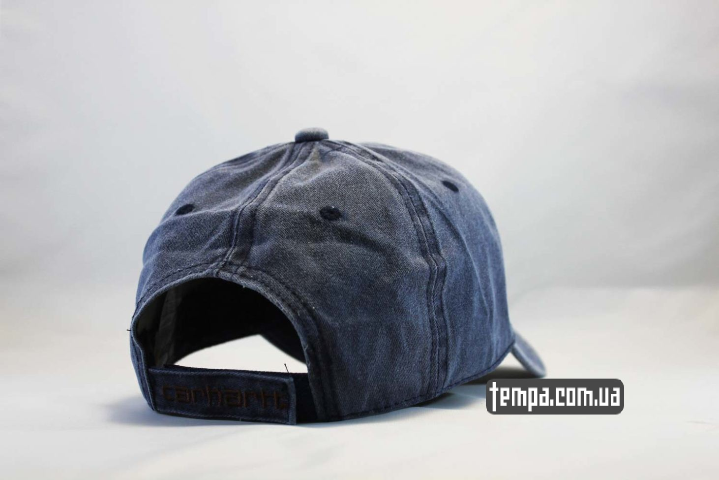 купить оригинал кепка Carhartt бейсболка джинсовая синяя купить