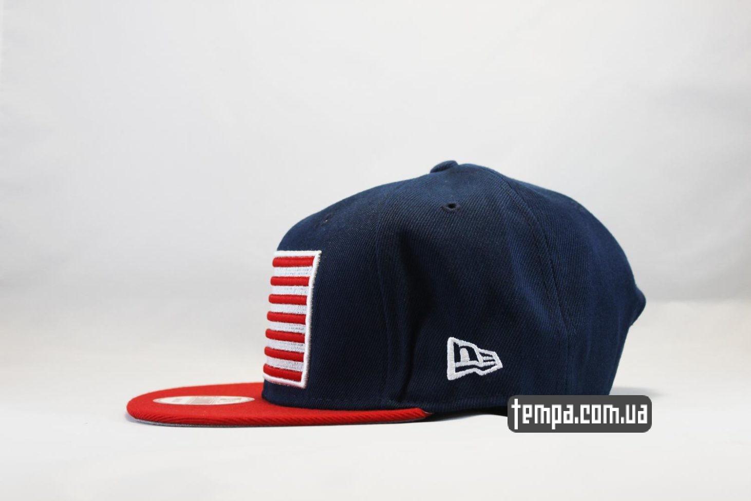 прямой козырек кепка snapback nyc new york yankees newera американский флаг