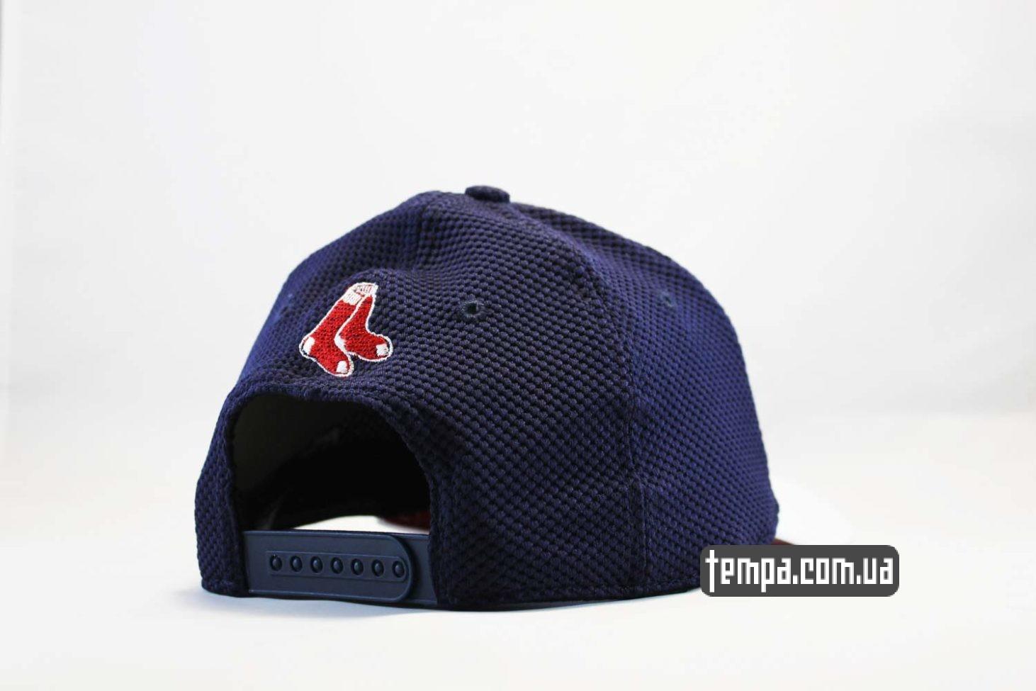 украина заказать кепка бейсболка Boston Red Sox snabpack в сеточку