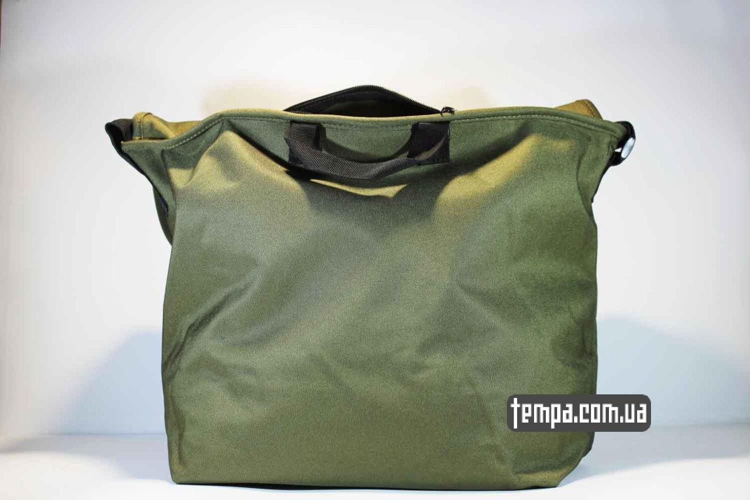 carhartt портфель сумка через плечо carhartt зеленая купить Украина