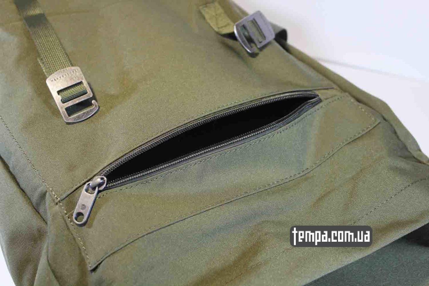 где купить оригинал рюкзак сумка Fjällräven Rucksack Foldsack No.1 — 16 литров зеленый