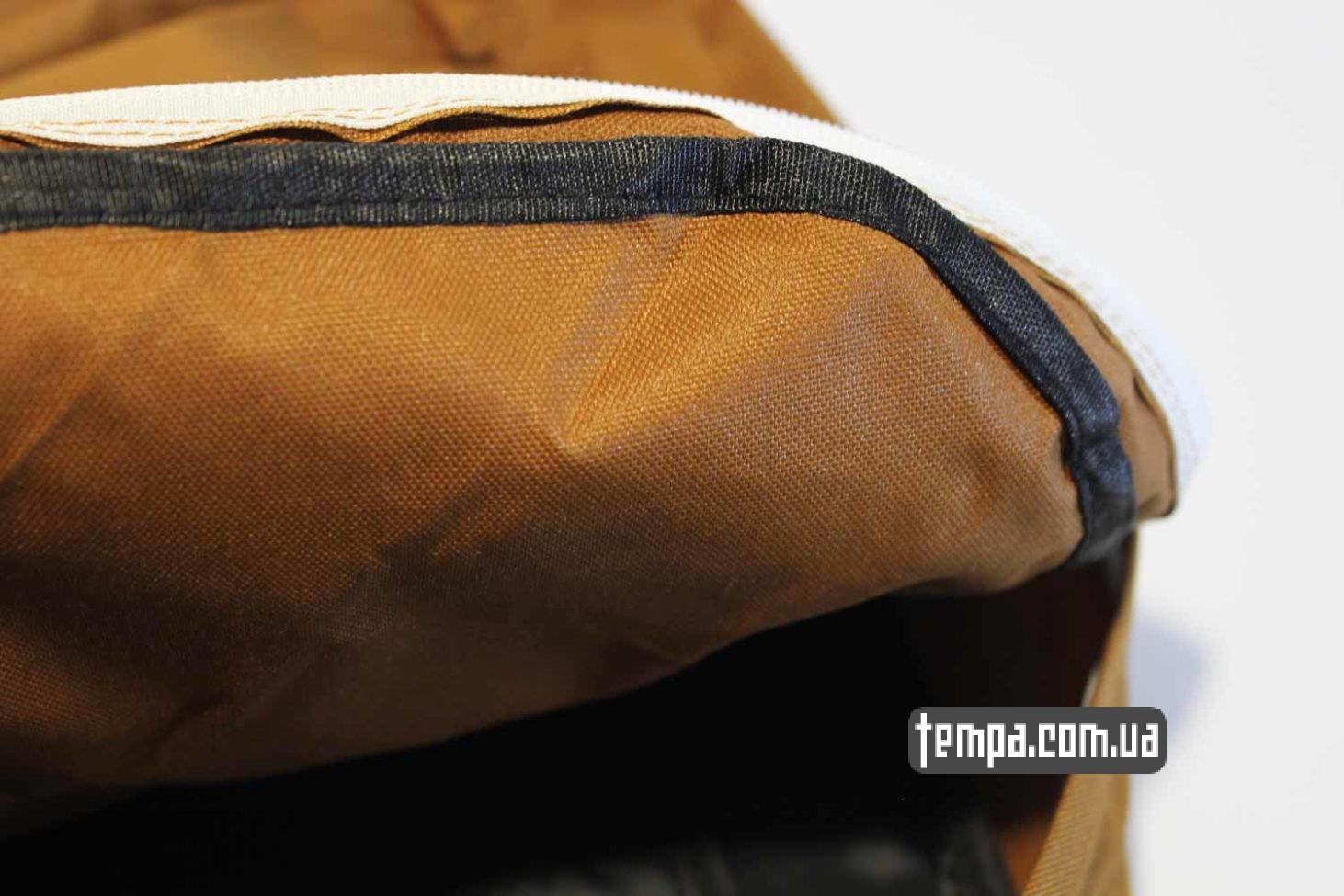 качественный школьный рюкзак Carhartt коричневый купить оригинал bagpack кархартт