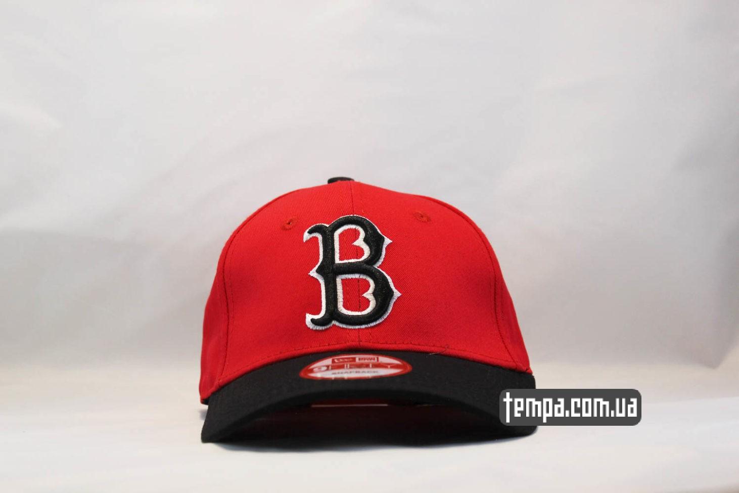 кепка бейсболка BOSTON REDSOX красная new era