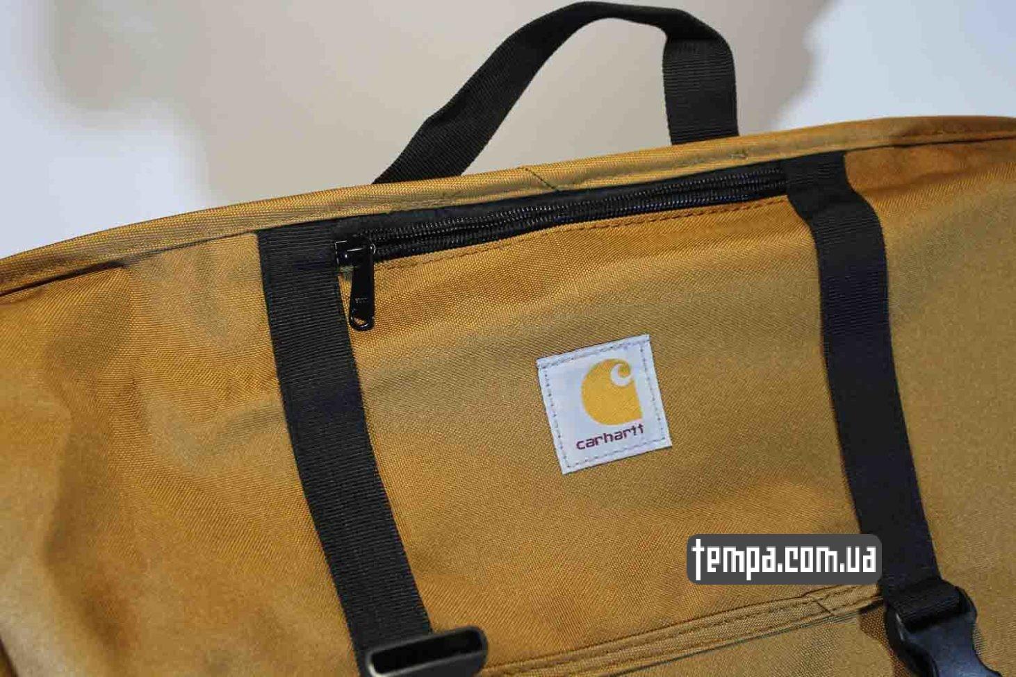 купить одежда carhartt сумка через плечо carhartt bag коричневая купить Украина