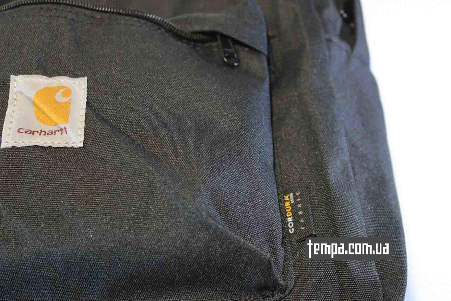 магазин carhartt официальный рюкзак Carhartt black backback черный купить Украина