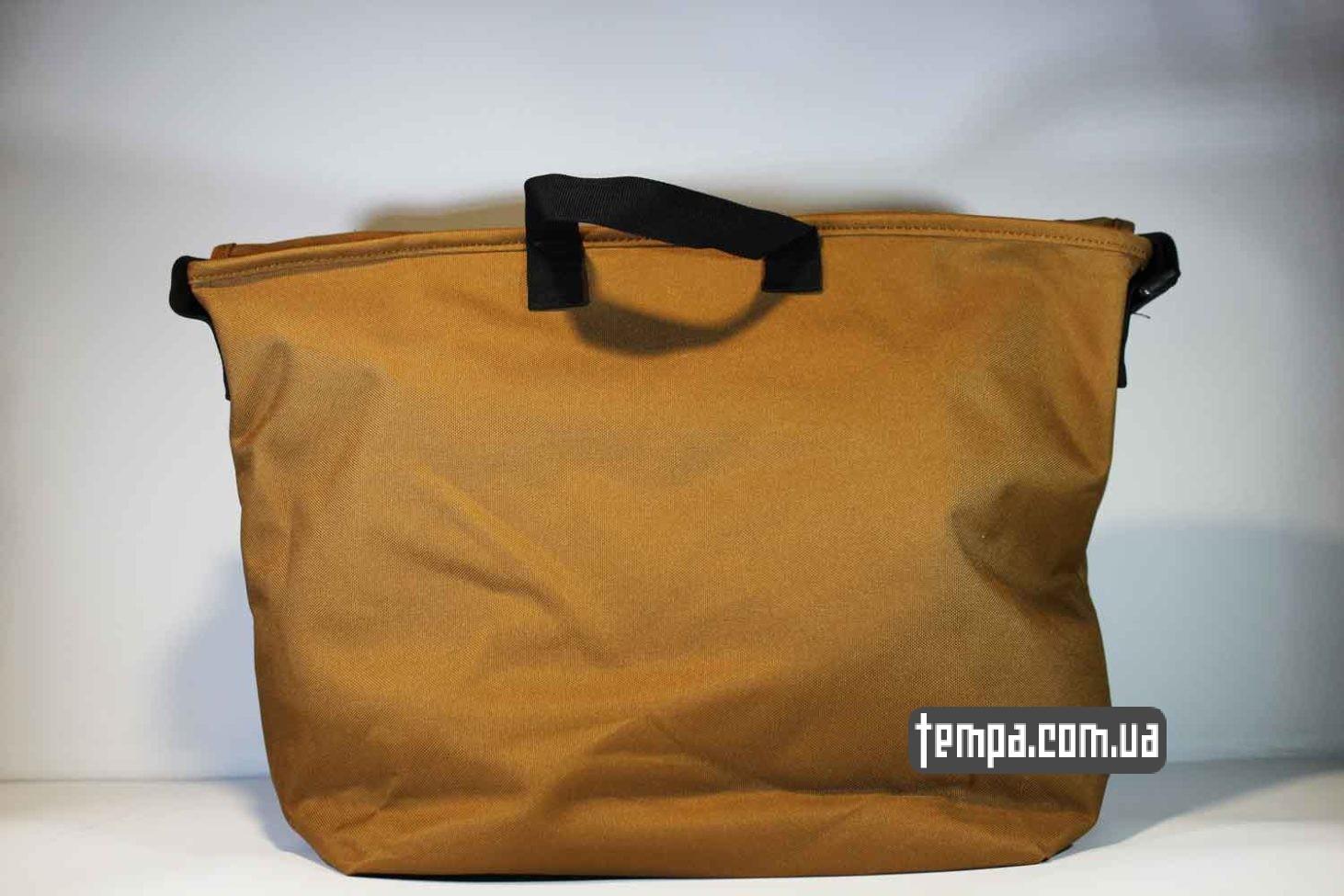 магазин кархарт украина сумка через плечо carhartt bag коричневая купить Украина