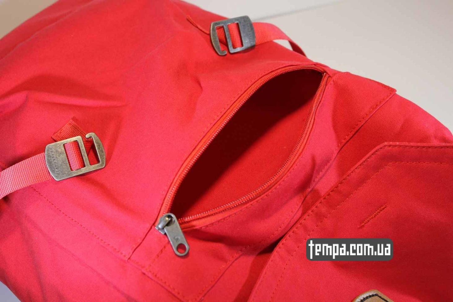 магазин сумок рюкзаков рюкзак сумка Fjällräven Foldsack No.1 Ox красная