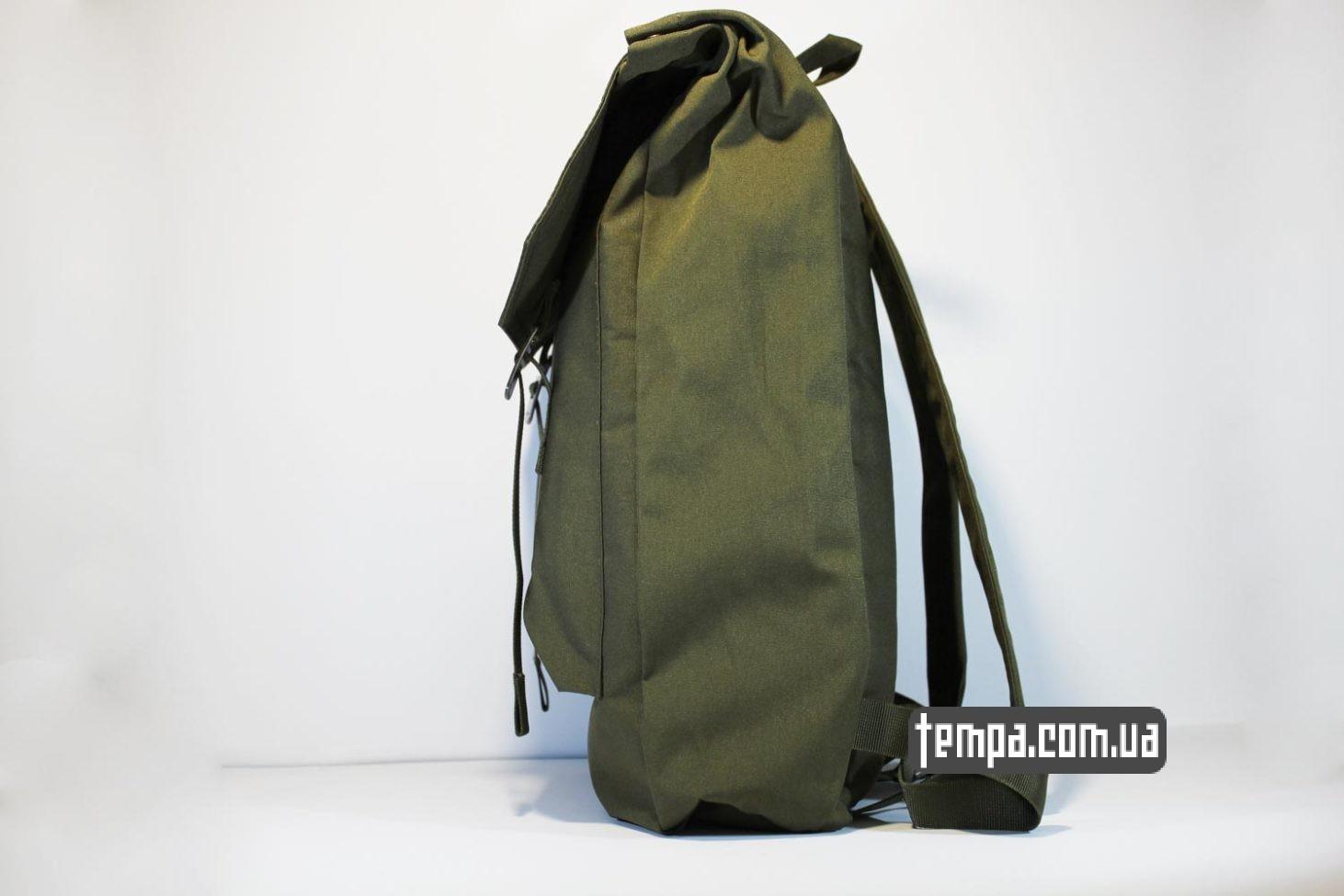мужской женский школьный рюкзак сумка Fjällräven Rucksack Foldsack No.1 — 16 литров зеленый