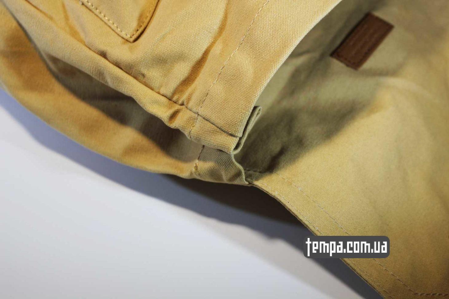 оригинльная канкен рюкзак сумка Fjallraven Foldsack No.1 Backpack бежевый