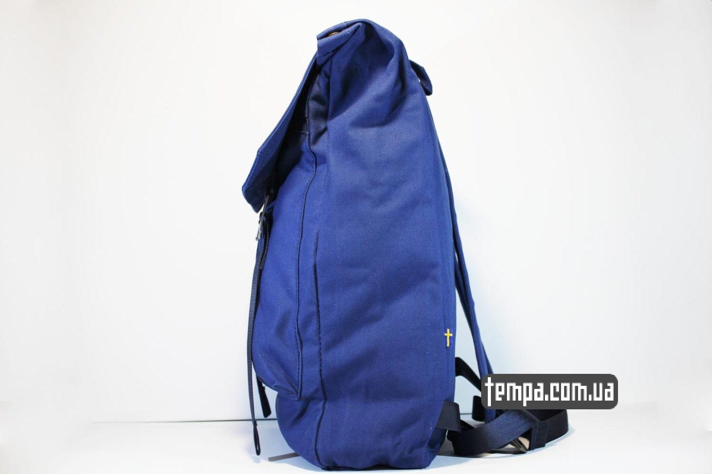 плотный водонепронецаемый синий рюкзак сумка Fjallraven Foldsack No.1 Backpack
