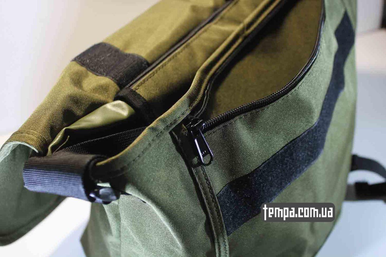 прочная водонепронецаемая сумка через плечо carhartt зеленая купить Украина