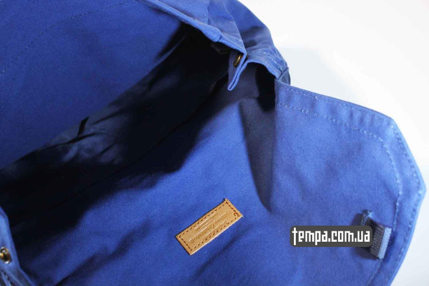 с лесой синий рюкзак сумка Fjallraven Foldsack No.1 Backpack