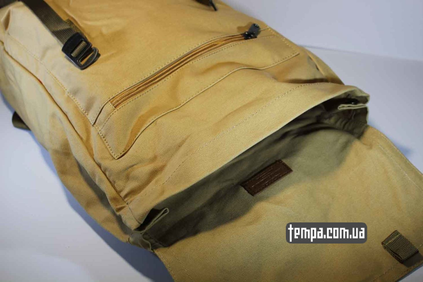 школьные университет рюкзак сумка Fjallraven Foldsack No.1 Backpack бежевый
