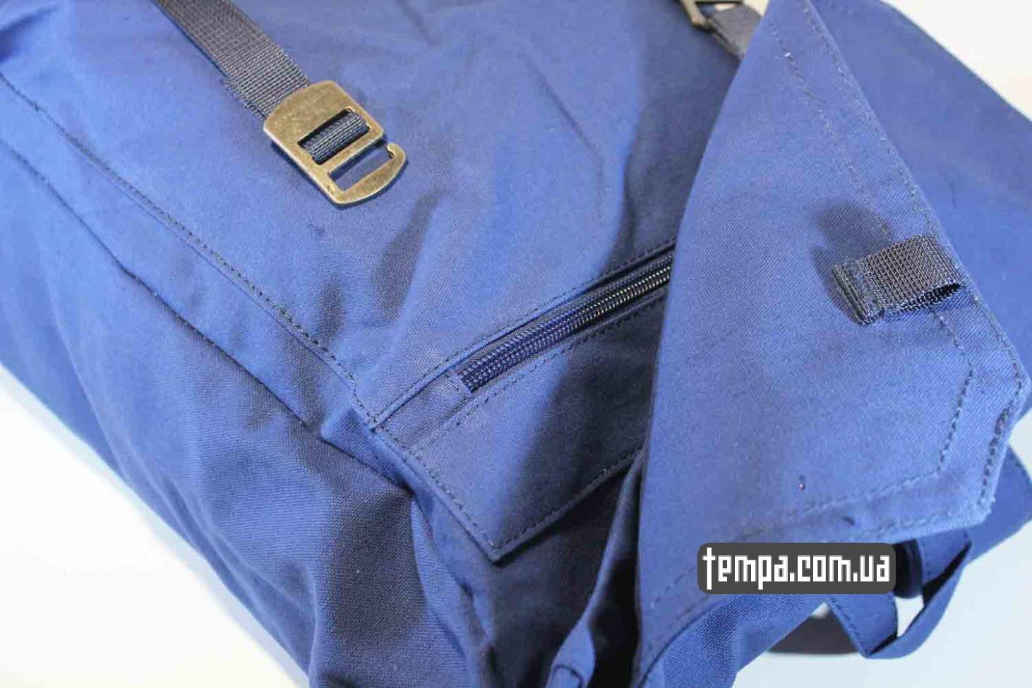 темно-синий оригинальный синий рюкзак сумка Fjallraven Foldsack No.1 Backpack