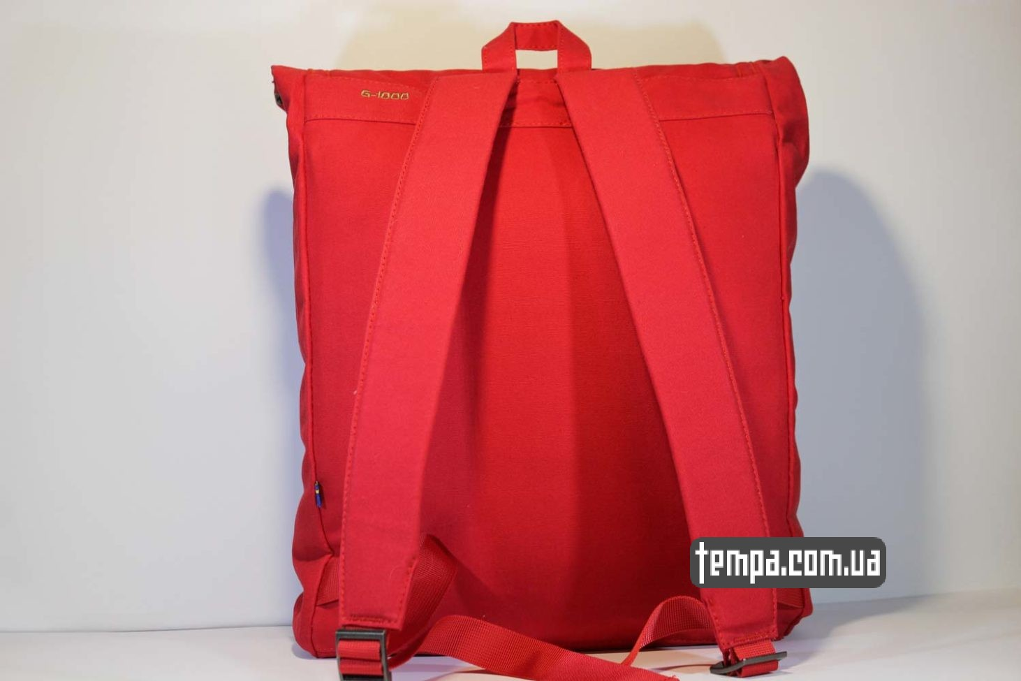 украина купить заказать рюкзак сумка Fjällräven Foldsack No.1 Ox красная
