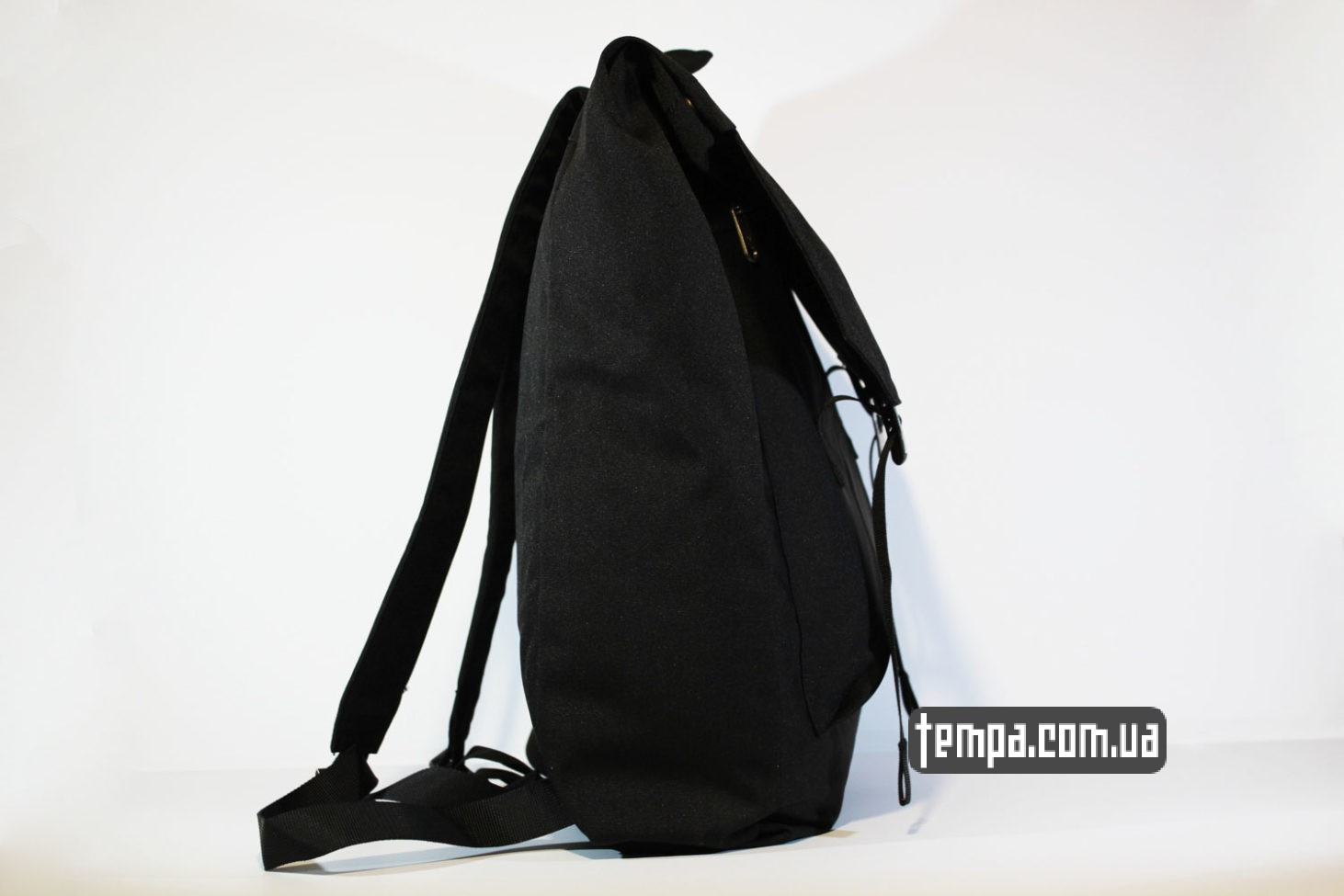 black с лисой рюкзак сумка Fjallraven Foldsack No.1 Backpack черный