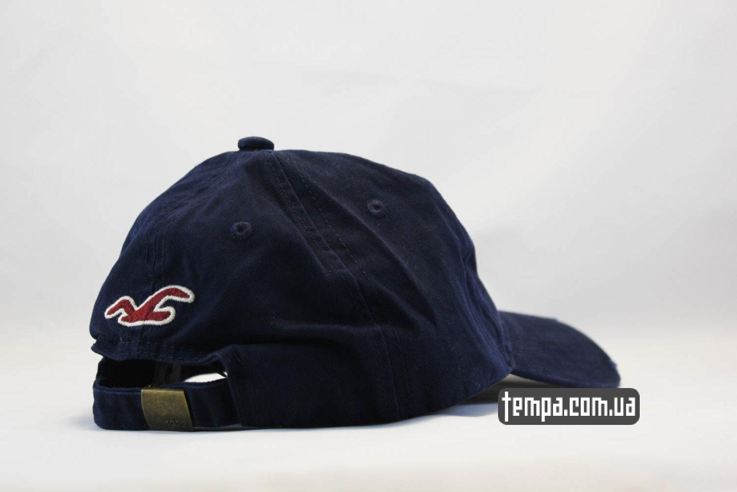 где купить оригинальную одежду кепка бейсболка holliter co ocean rescue синяя с птицей