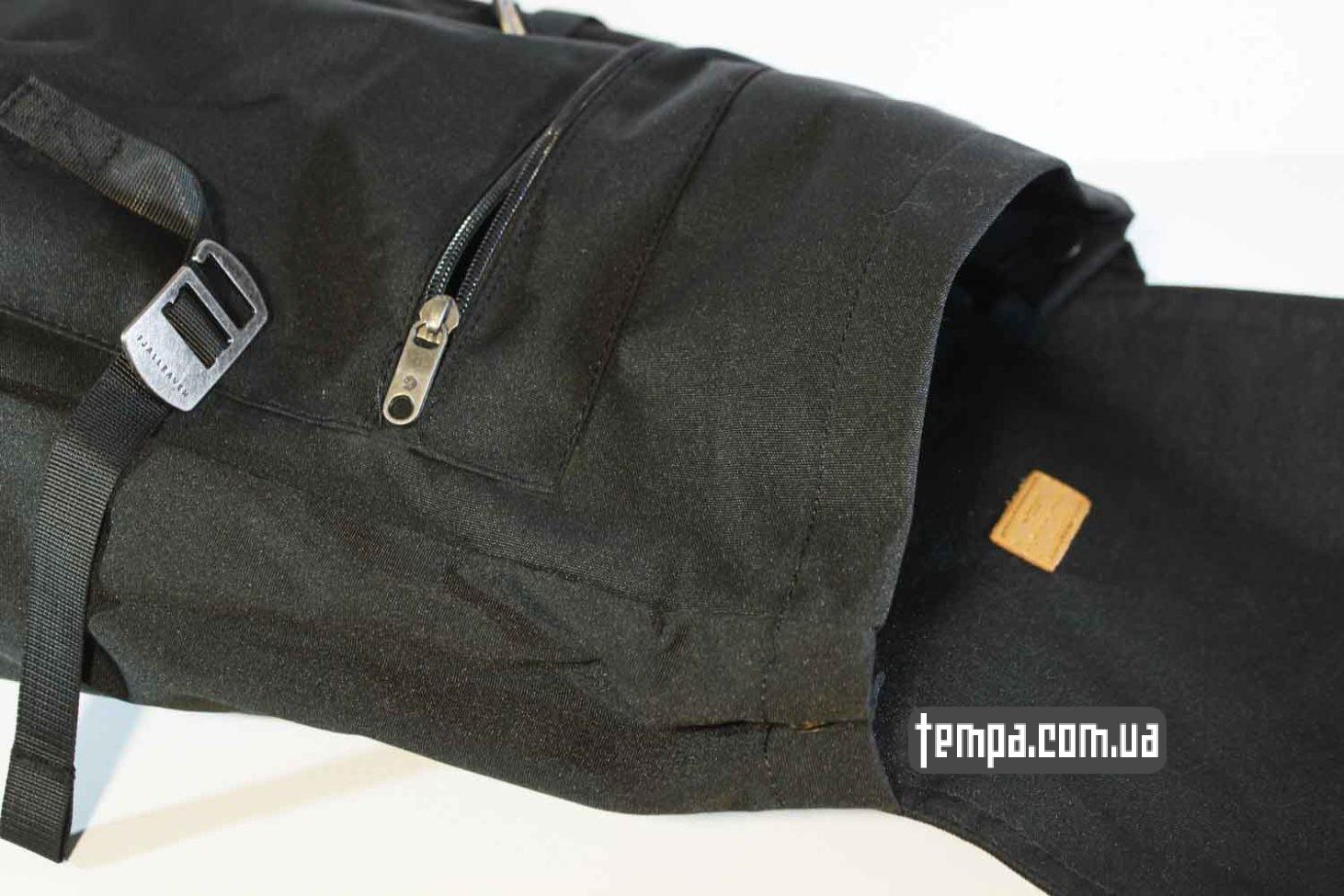 школьный рюкзак сумка Fjallraven Foldsack No.1 Backpack черный
