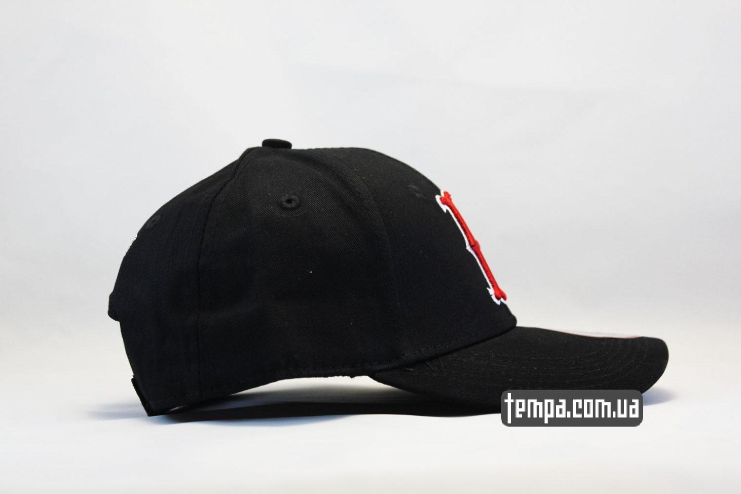 украина купить кепка New Era Boston Red Sox бейсболка черная