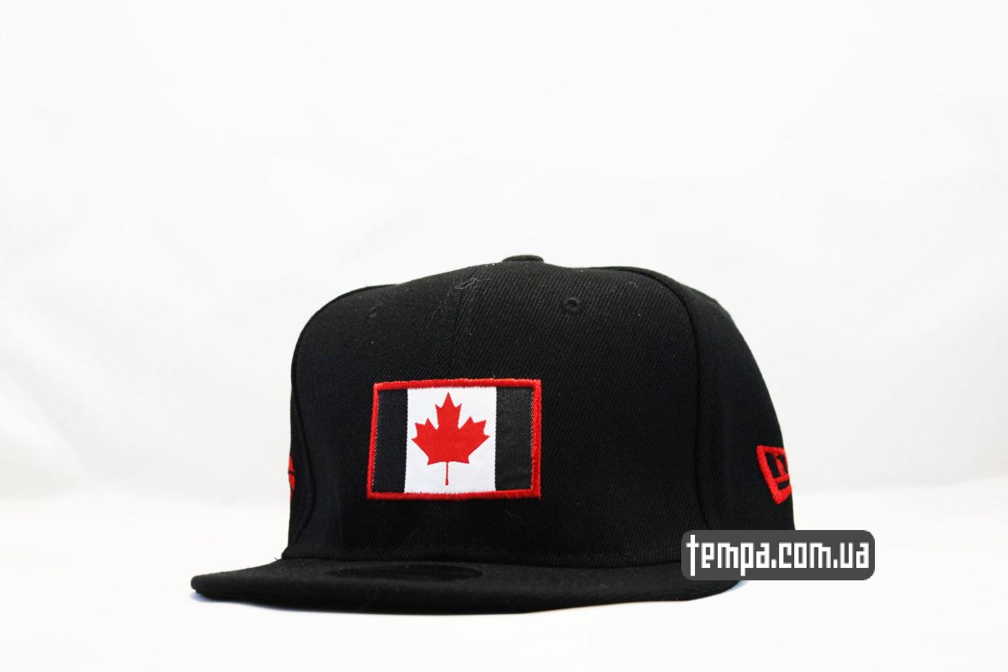Кепка Snapback Canada New Era с канадским флагом