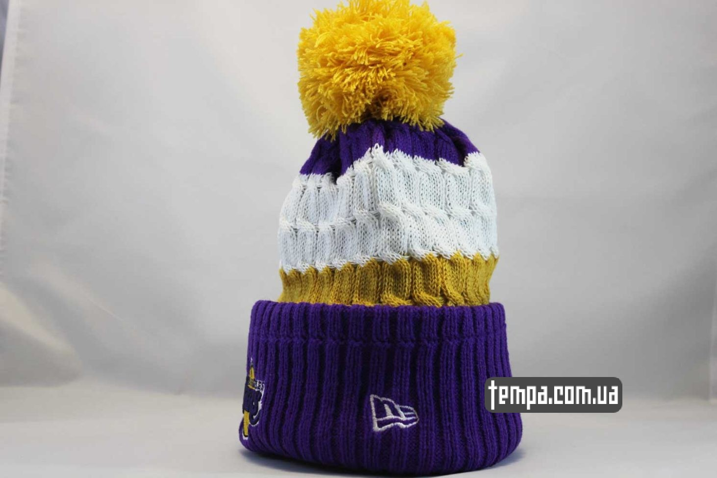 баскетбольбная одежда шапка beanie LAKERS Los Angeles NBA NewEra баскетбольная