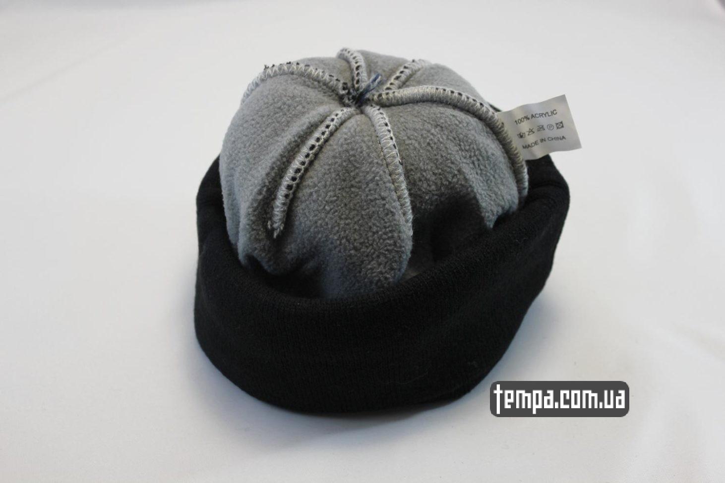 бини купить Украина шапка beanie NIKE черная со звездами и балабоном