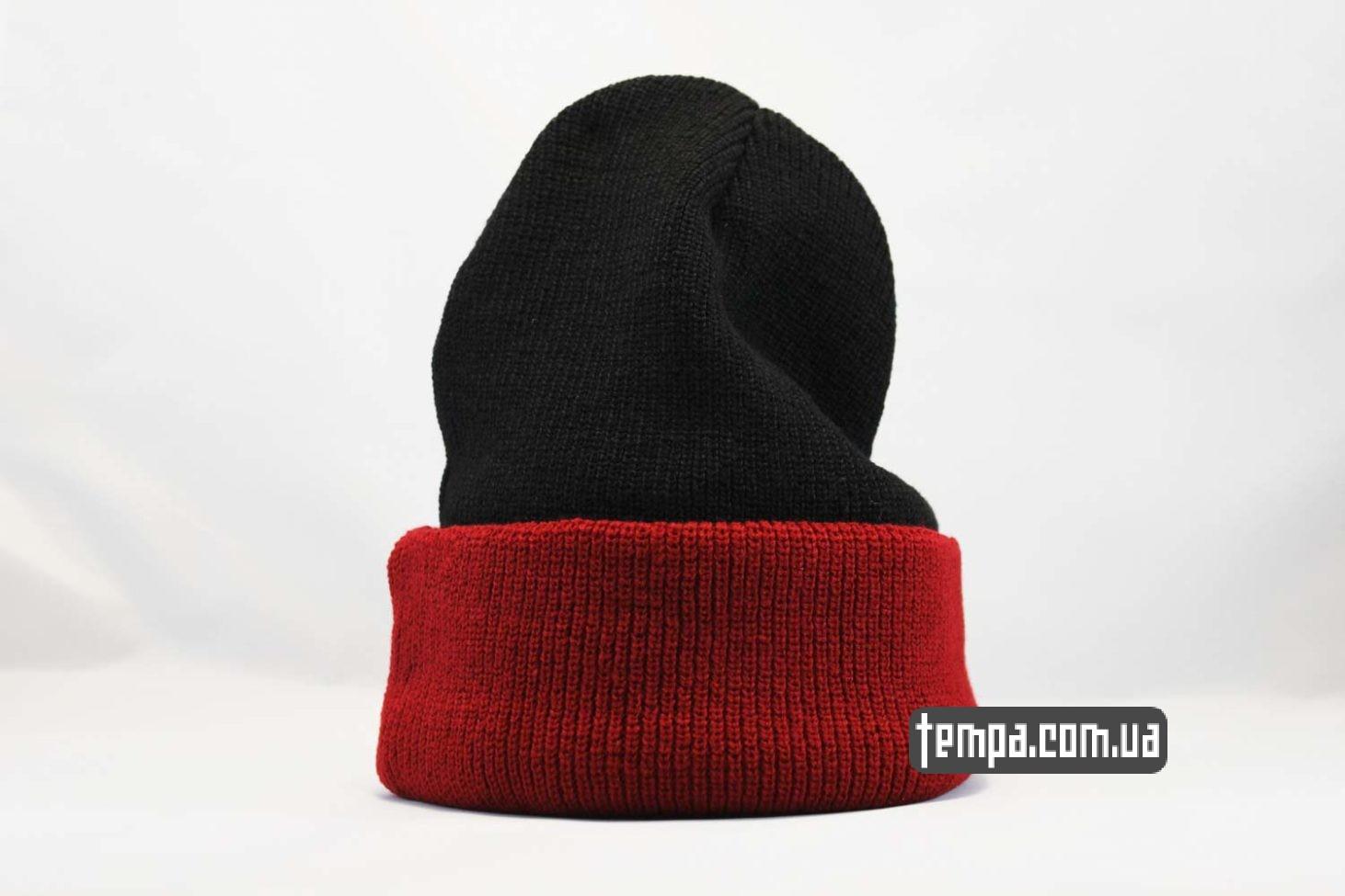 бини украина купить шапка beanie brixxton mfg company indian красная черная с индейцем