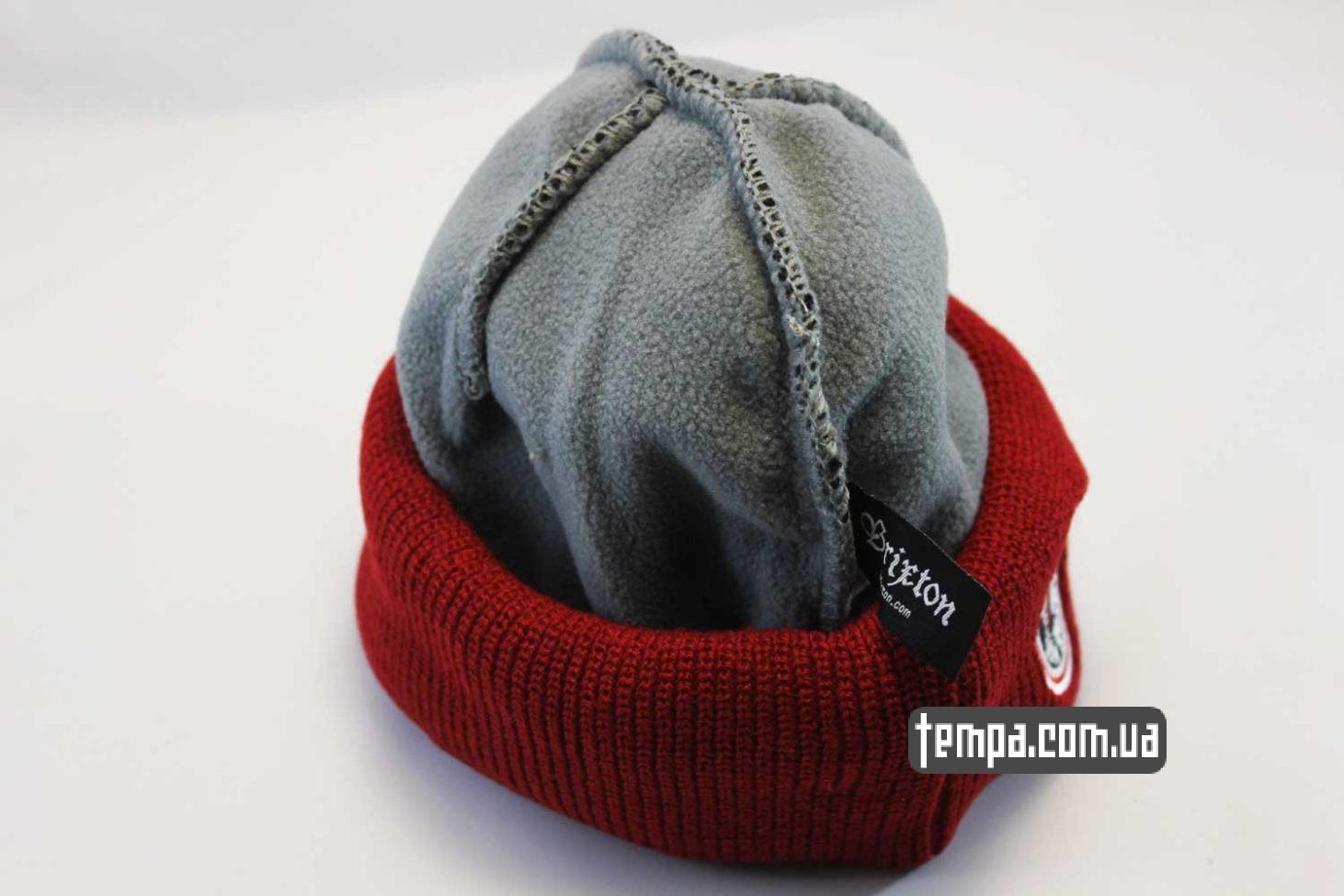 брикстон купить заказать шапка beanie brixxton mfg company indian красная черная с индейцем