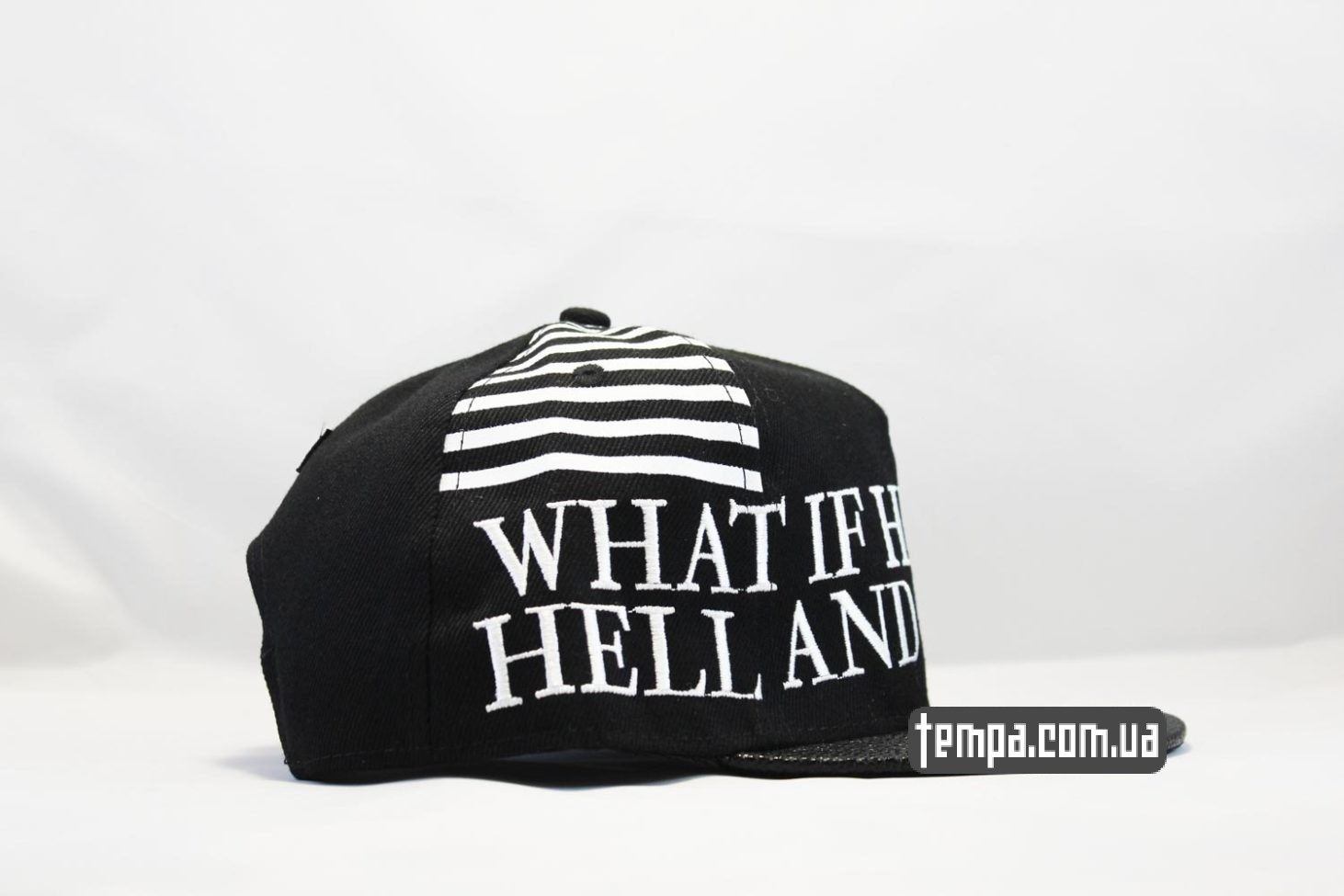 прямой козырек snapback кепка What if Heaven was Hell and vica versa Pastor Troy cayler and sons